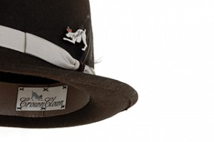 Black Plain Fedora Hat