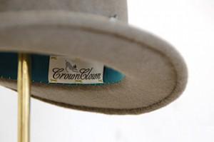 Sand Beige Velour Hat