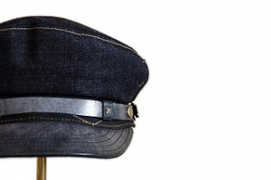 Blue Denim Fisher Cap