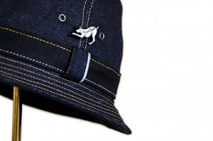 Blue Denim Rollup Hat