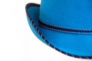 Vintage Blue Antelope Cowboy Hat